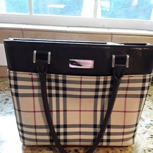 Burberry plaid purse